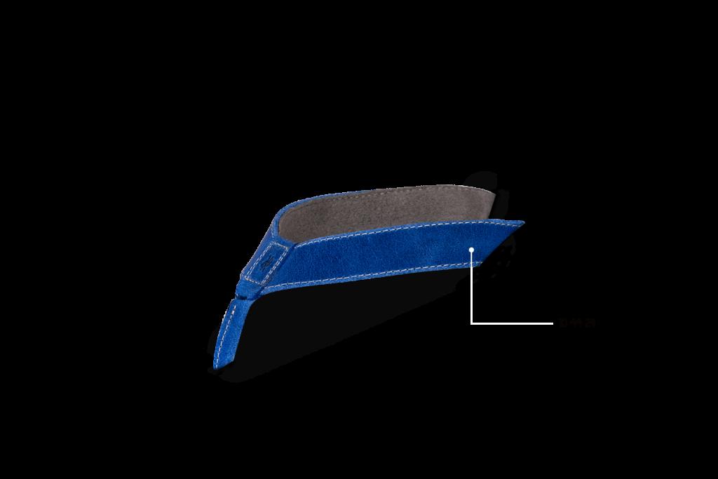 Leder, Blau, 10 44 24