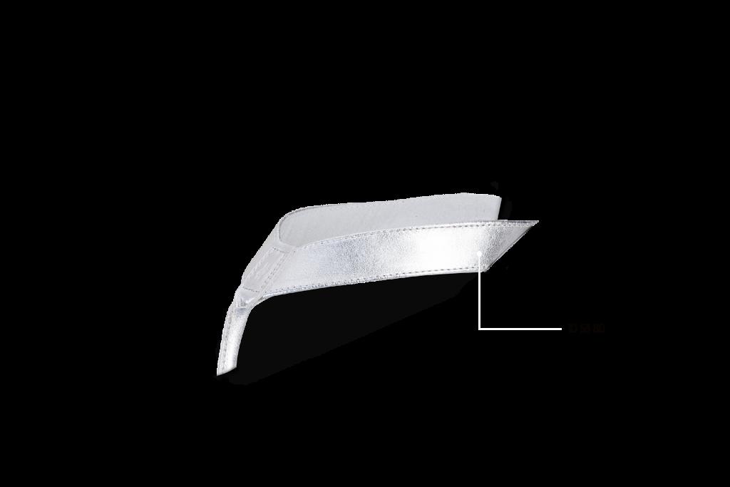 Leder, Silber, 10 53 80