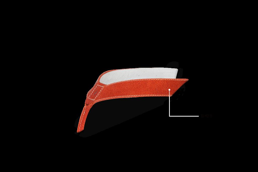 Leder, Orange, 10 42 11